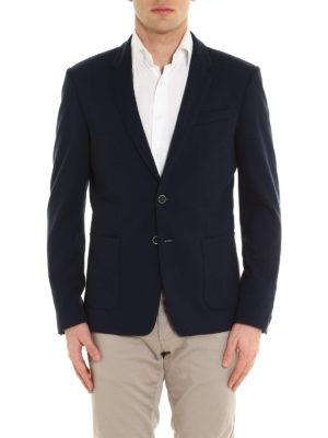 Dondup: blazers online - Simion structured jersey blazer
