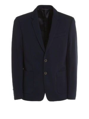 Dondup: blazers - Simion structured jersey blazer