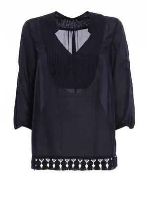 Dondup: blouses - Hibiscus blouse