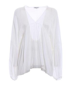 Dondup: blouses - Manon crepe blouse