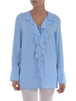 Dondup: blouses online - Bisa frilled blouse