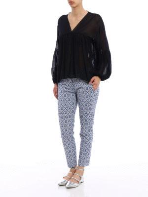 Dondup: blouses online - Manon crepe blouse
