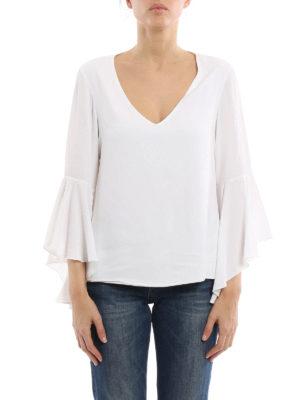 Dondup: blouses online - Sylvestris silk blouse