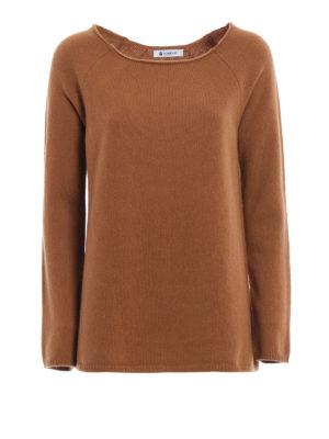Dondup: boat necks - Merino wool and cashmere boatneck