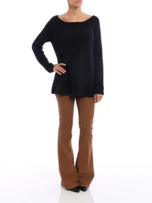 Dondup: boat necks online - Merino wool and cashmere boatneck