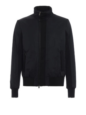 DONDUP: giacche bomber - Bomber imbottito in nylon e lana