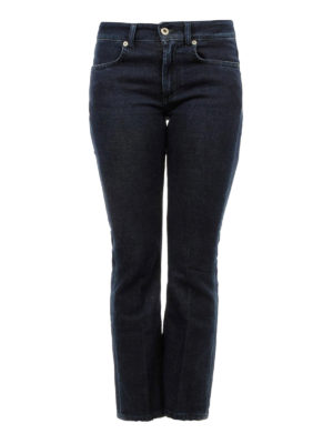 DONDUP: jeans bootcut - Jeans in denim scuro