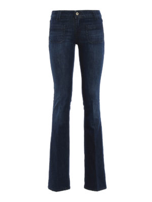 Dondup: bootcut jeans - Morrison low rise flared jeans