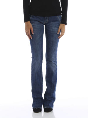 Dondup: bootcut jeans online - Bianca faded jeans