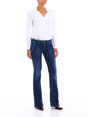 Dondup: bootcut jeans online - Bianca low waist slim jeans