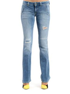 Dondup: bootcut jeans online - Bianca stone washed jeans