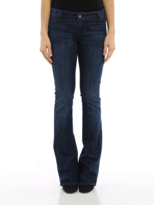 Dondup: bootcut jeans online - Morrison low rise flared jeans