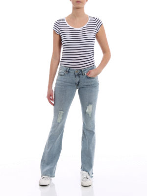 Dondup: bootcut jeans online - Neon skinny bootcut jeans