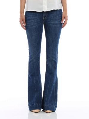 Dondup: bootcut jeans online - Stretch cotton bootcut jeans