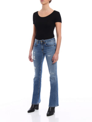 Dondup: bootcut jeans online - Trumpette cropped bootcut jeans