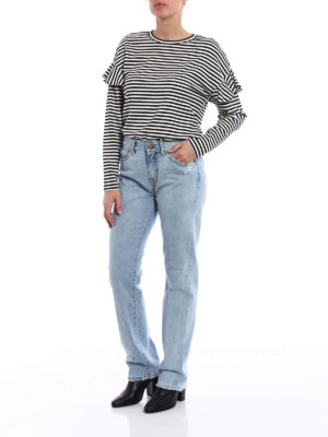 Dondup: Boyfriend online - Silona worn out denim jeans