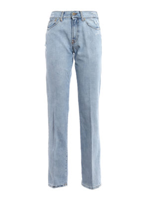 Dondup: Boyfriend - Silona worn out denim jeans