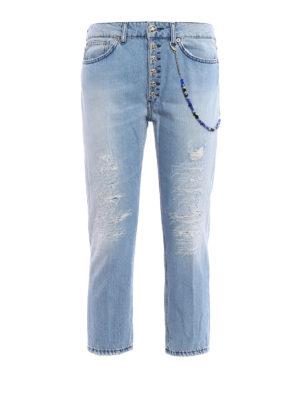 Dondup: Boyfriend - Surie cropped jeans
