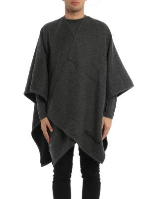 Dondup: Capes &  Ponchos online - Hiamovi wool cloth cape