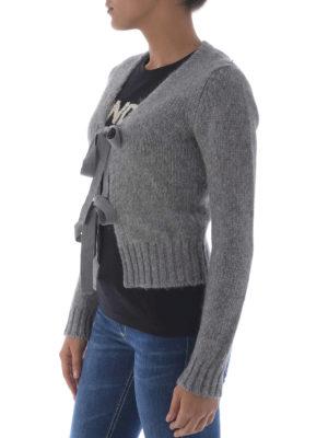 Dondup: cardigans online - Alpaca blend crop cardigan