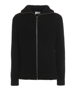 Dondup: cardigans - Wisconsin wool blend cardigan