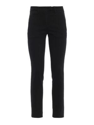DONDUP: pantaloni casual - Pantaloni Perfectcropped neri