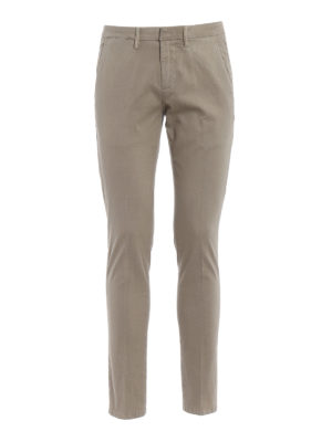 Dondup: casual trousers - Bryan stretch cotton trousers