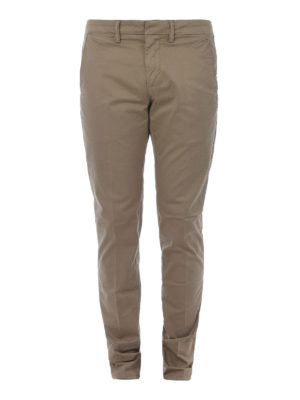 DONDUP: pantaloni casual - Pantaloni Bryan in cotone stretch