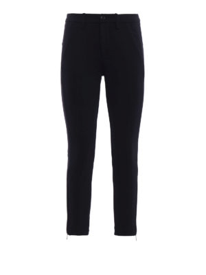 Dondup: casual trousers - Callaghan scuba trousers