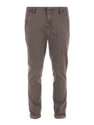 Dondup: casual trousers - Cotton chino trousers