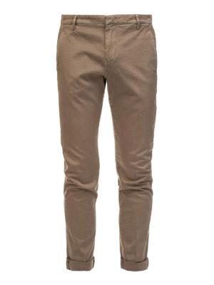 DONDUP: pantaloni casual - Pantaloni chino beige scuri