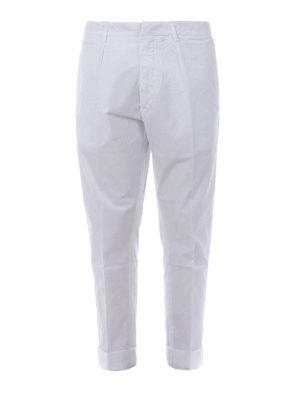 DONDUP: pantaloni casual - Pantaloni Frankie con pinces