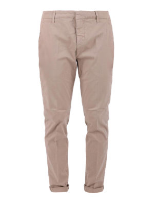 Dondup: casual trousers - Gaubert beige cotton trousers
