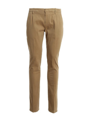 DONDUP: casual trousers - Gaubert cotton blend trousers