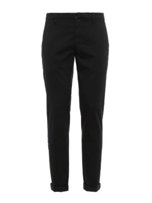 Dondup: casual trousers - Gaubert cotton trousers