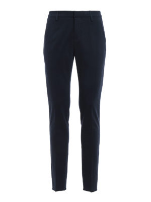 Dondup: casual trousers - Gaubert jersey trousers