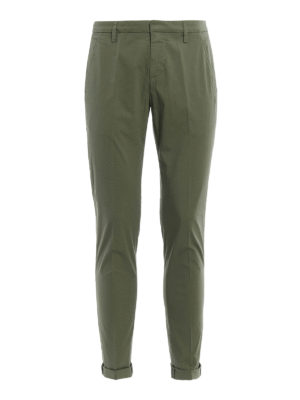 Dondup: casual trousers - Gaubert light cotton trousers