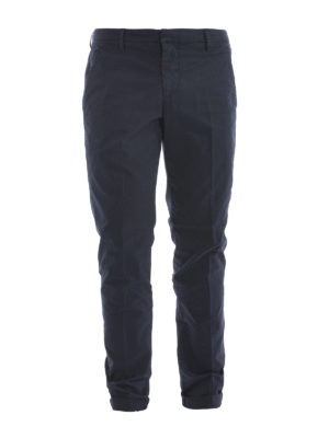 Dondup: casual trousers - Gaubert light cotton trousers