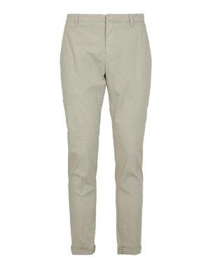 DONDUP: pantaloni casual - Pantaloni Gaubert in cotone leggero