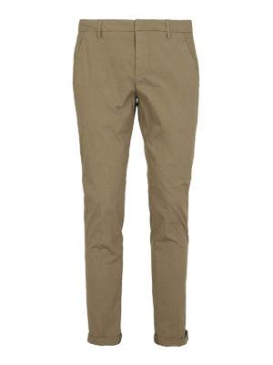 DONDUP: pantaloni casual - Pantaloni Gaubert in cotone