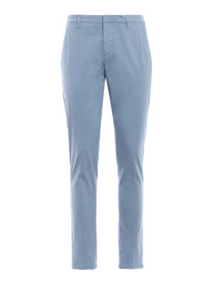 Dondup: casual trousers - Gaubert soft cotton trousers