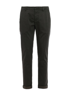 Dondup: casual trousers - Gaubert stretch cotton trousers