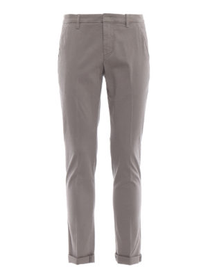 DONDUP: pantaloni casual - Pantaloni chino Gaubert in misto cotone