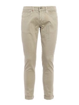 Dondup: casual trousers - George cotton trousers
