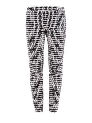 DONDUP: pantaloni casual - Pantaloni Hope con motivo cuori