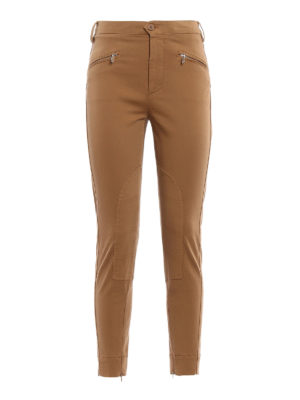 Dondup: casual trousers - Kedira cotton skinny trousers