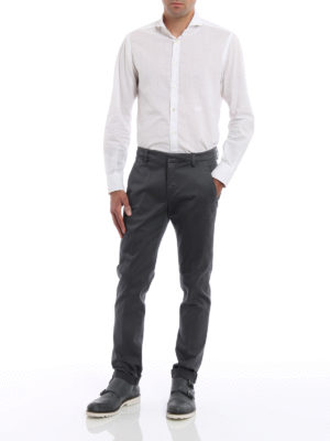 Dondup: casual trousers online - Chinos Gaubert trousers