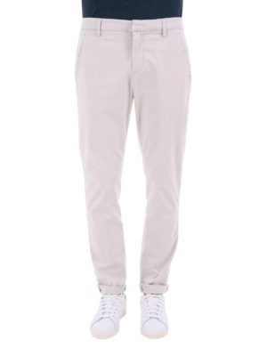 Dondup: casual trousers online - Cotton chino trousers
