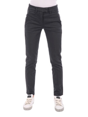 Dondup: casual trousers online - Cotton trousers