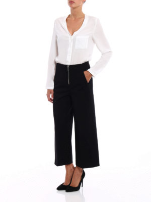 Dondup: casual trousers online - Deluxe crop trousers